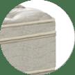 Pillow top quadrado (Simmons)