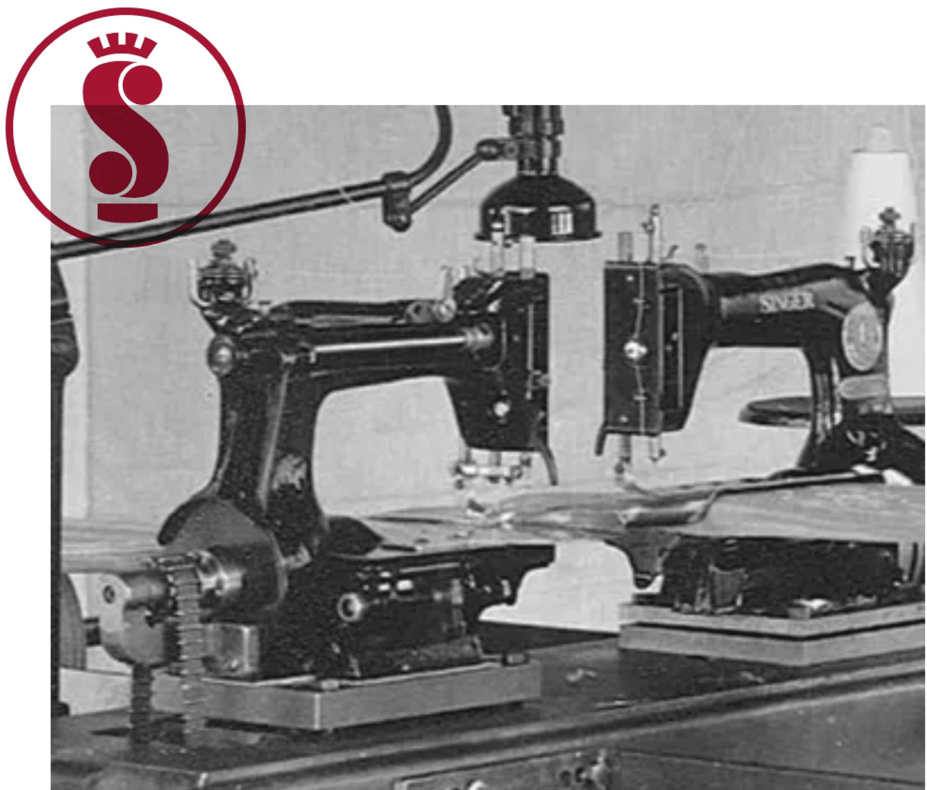 Detalhe máquina de costura simmons