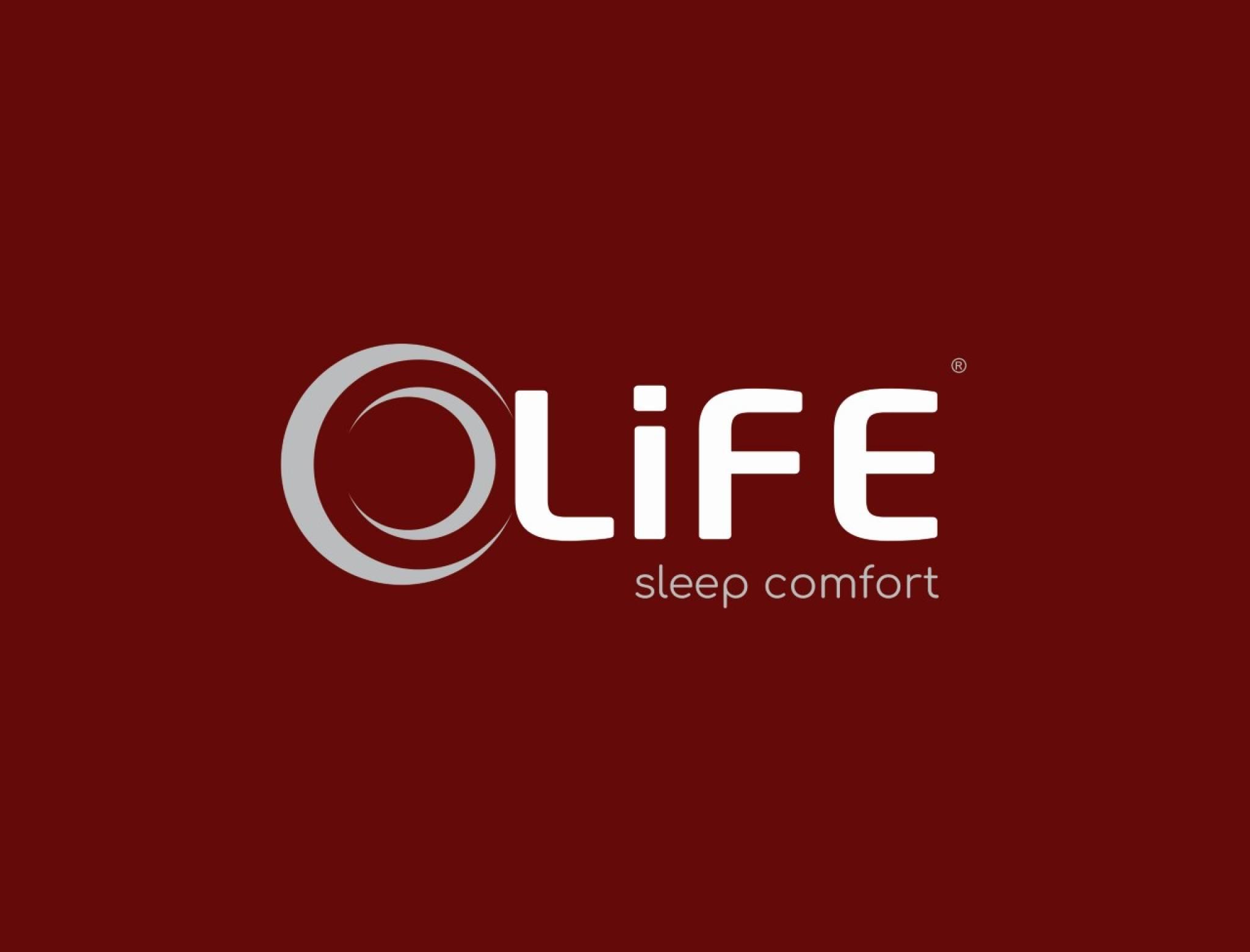 Life Sleep Comfort Logo Vermelho
